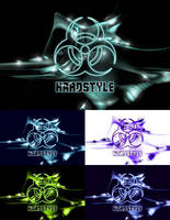 Hardstyle-inspired wallpaper pack by Poison-Lady