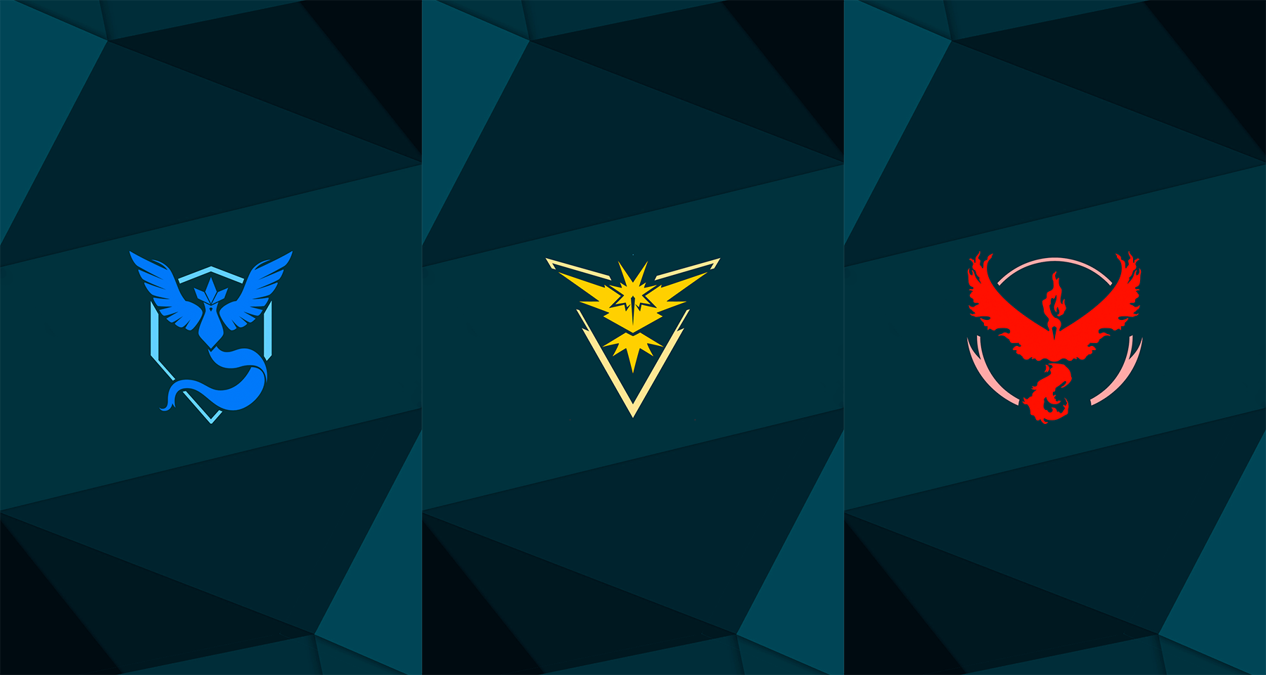 Pokemon Go Teams Wallpaper Pack By Malexer On Deviantart