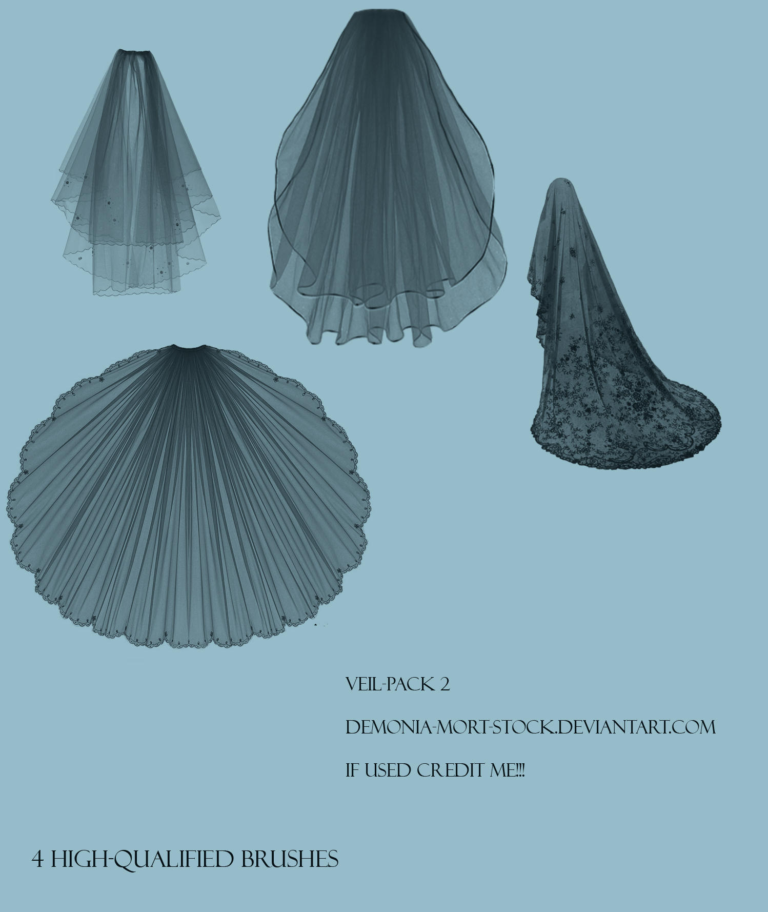 Veil pack 2 by Ieris-Stock