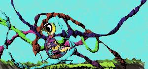 Bird and Snakes by lightnessduck