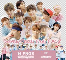 Seventeen kpop PNG pack by ashleynxo