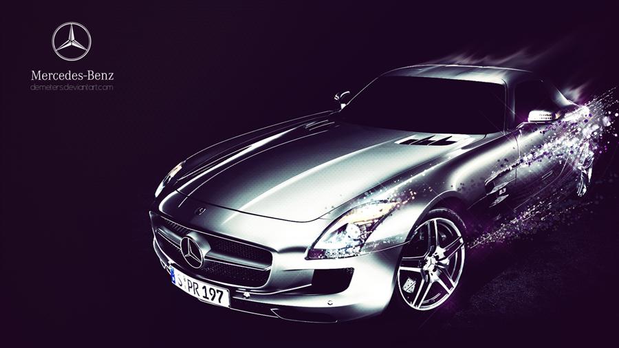 Mercedes-Benz SLS AMG Wallpaper Pack By Demeters On DeviantArt