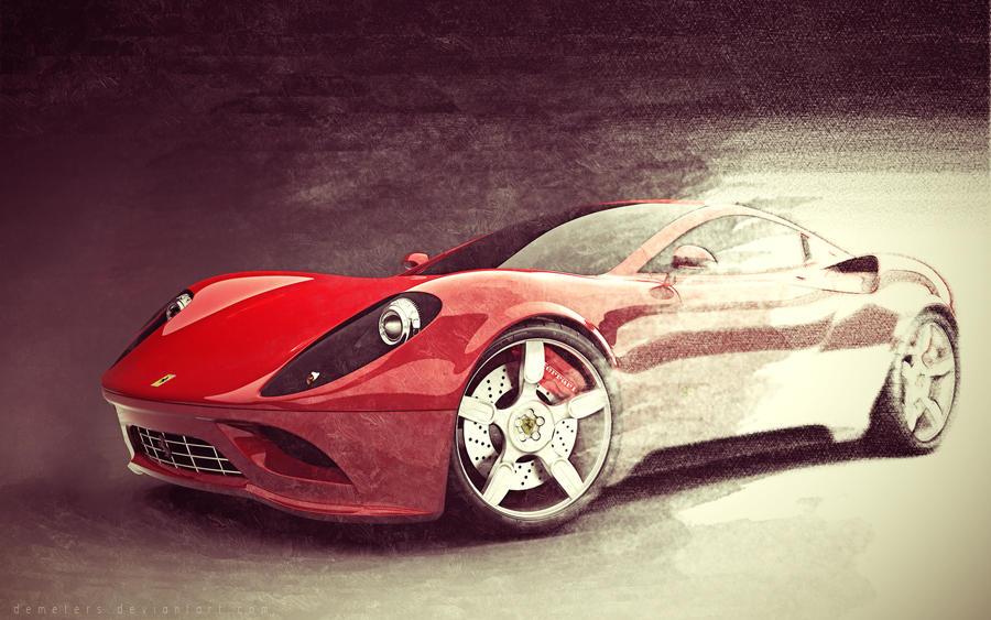 Ferrari Wallpaper by demeters