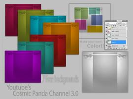 FREE Youtube's Cosmic Panda Bg pack by demeters