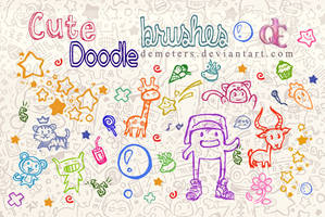 Cute Doodle brushes