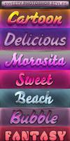 FREE Sweety Photoshop Styles by KoolGfx