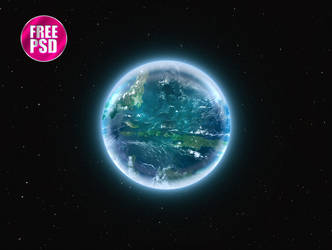 One Circle Layer Style - Earth by KoolGfx