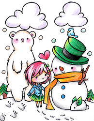 Kawaii Winter by Colorful--Melody