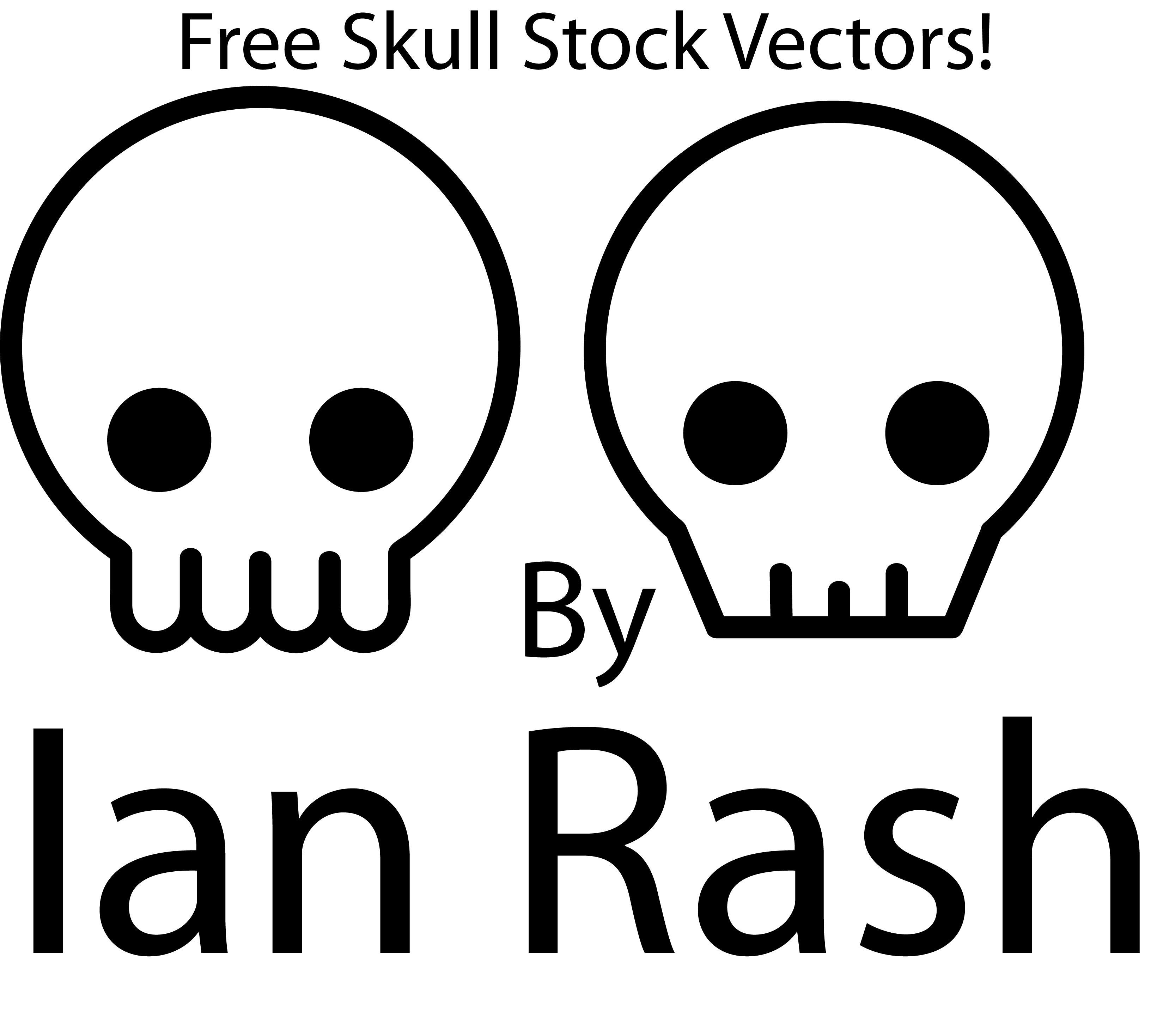 Skull vector stock by redcodefinal on deviantart