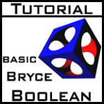 Tutorial - Boolean in Bryce by bluespeed9