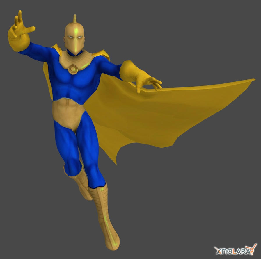 DCUO Doctor Fate by XNALaraFanatic