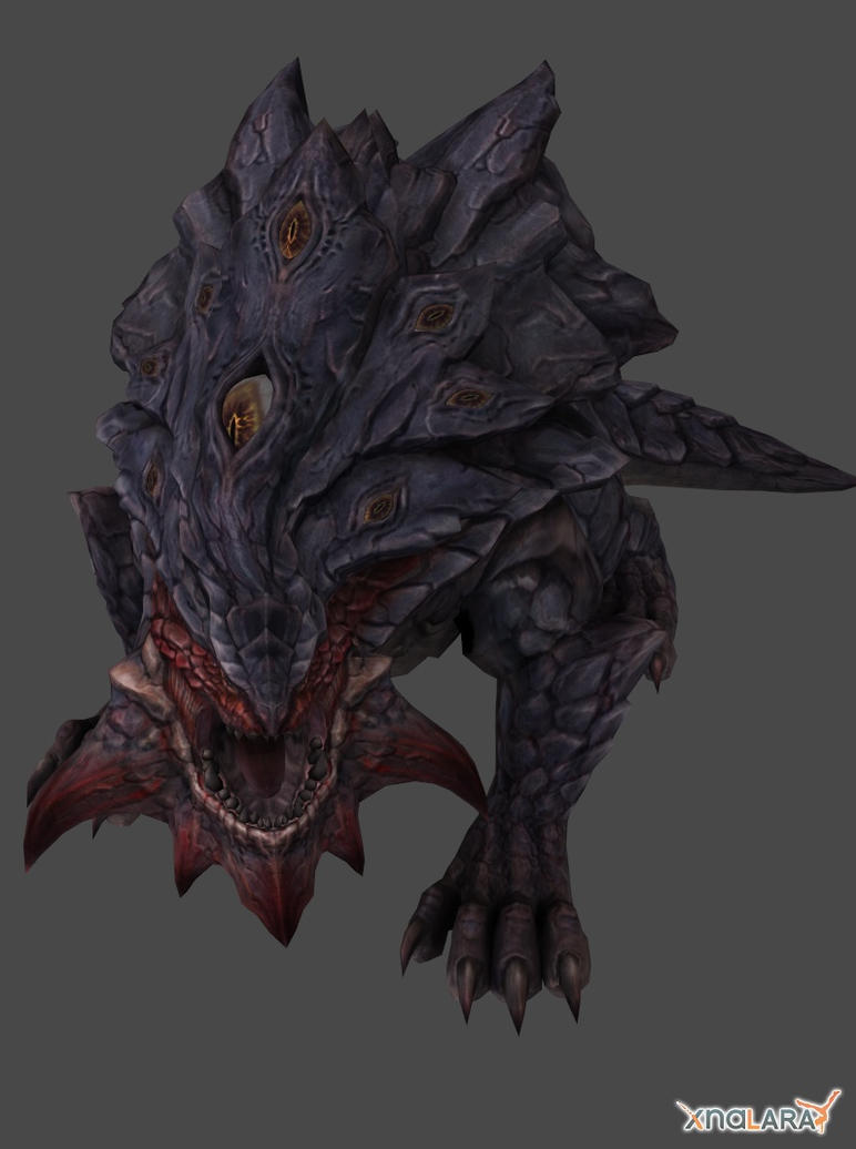 TERA Online Monsters : Basilisk by XNALaraFanatic