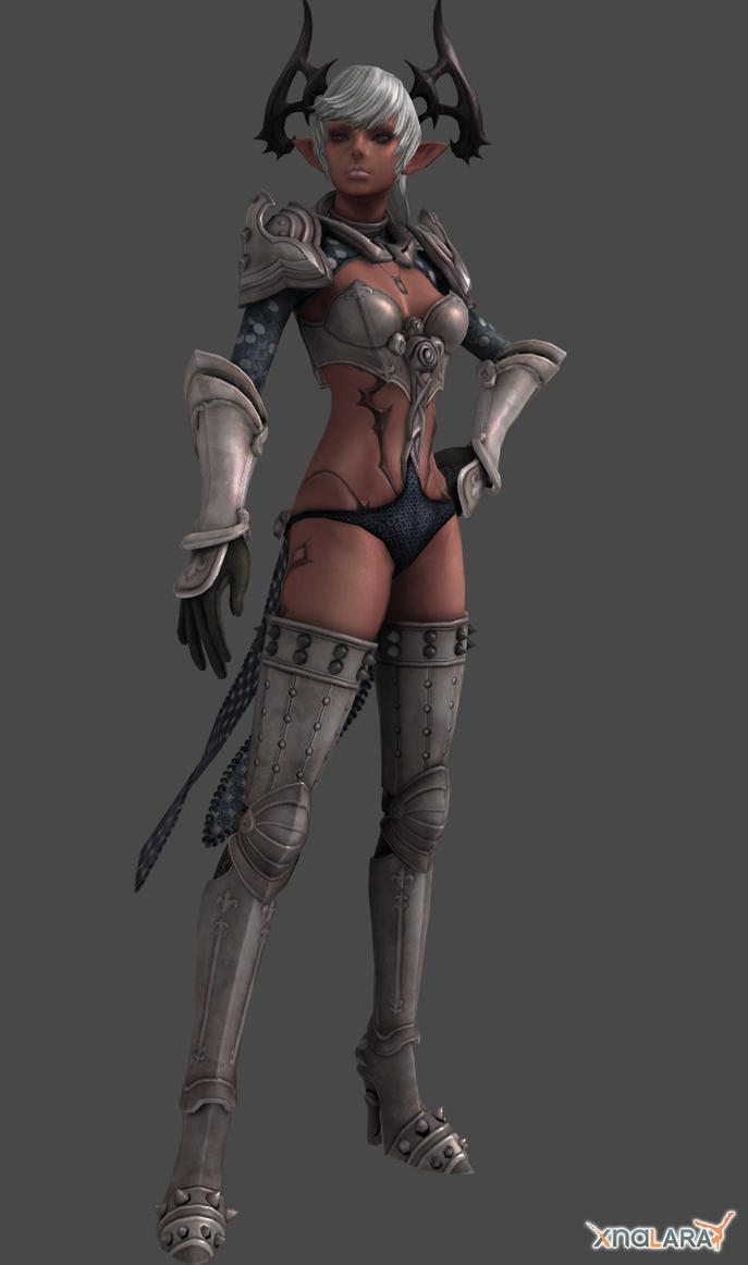 TERA Online : Original Castanic Female Character by XNALaraFanatic