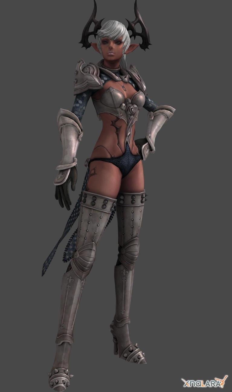 TERA Online : Original Castanic Female Character by XNALaraFanatic