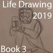 School Post - Life Drawing  - Book 3 by BlazeTBW
