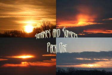 Sunrises and Sunsets Pack - 1 by Seductive-Stock