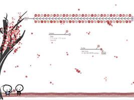 Blossom for Rainlendar by Mulberry24