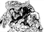 Cyberdemon- Battle Stance