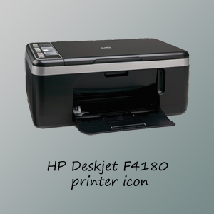 HP F4180 Printer Icon by 7hir7een