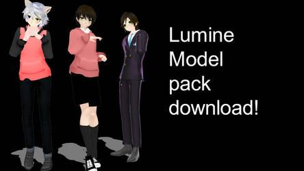 ||MMD X LUMINE|| Model Download!