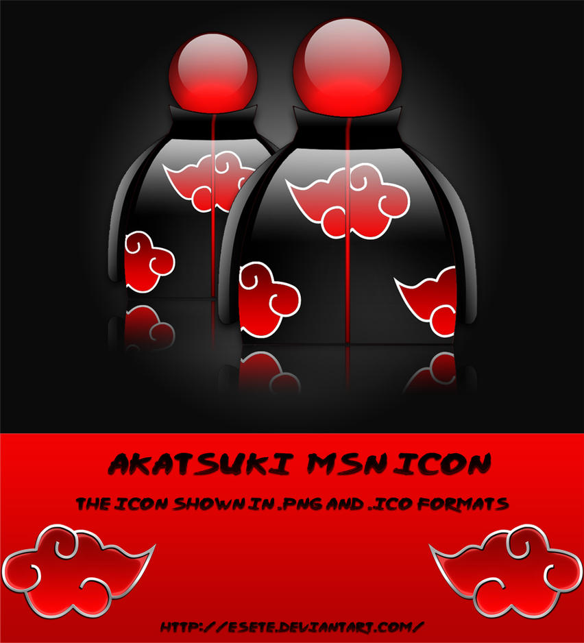 Akatsuki MSN Buddy Icon by Esete