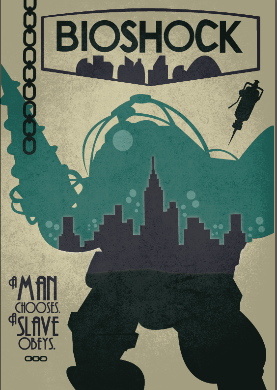 00c0437ee Bioshock - A man chooses, a slave obeys. by EmmaRules18 on DeviantArt