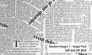 Random Image Pack 7-600DPI by screentones