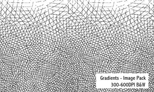 Gradients - 600DPI by screentones