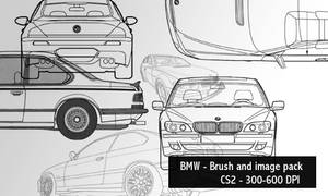 BMW - brush and image pack