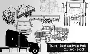 Trucks - Brush and Image Pack