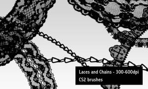 Laces and Chains - 600DPI