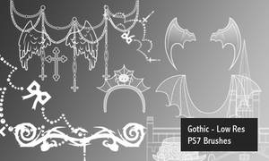 Gothic - PS7 Brushes
