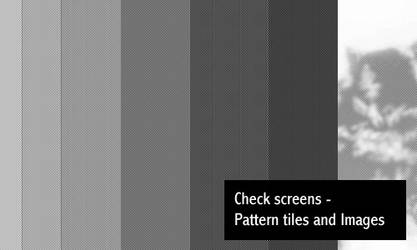Check Screens by screentones