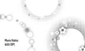 Mura halos - 600 DPI by screentones