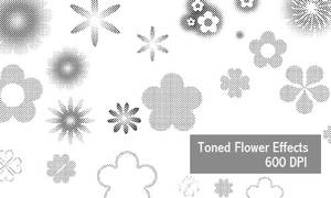 Flower Effects - 600 DPI