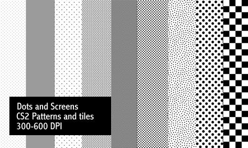 Dots and Screentones - Print by screentones