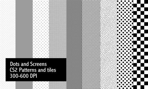 Dots and Screentones - Print
