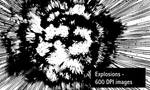 Explosions - Image Pack by screentones