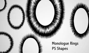 Monologue Rings by screentones