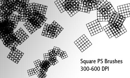 Squares - Ps Brush