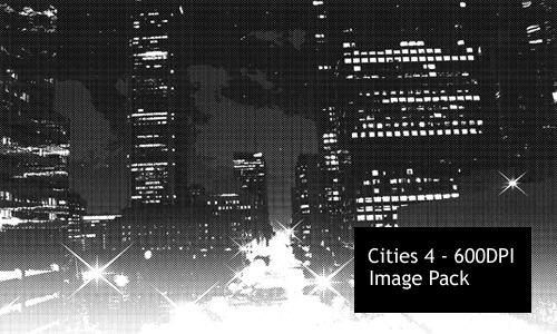 Cities 4 - image pack by screentones
