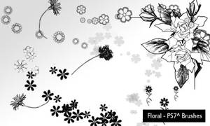 floral by screentones