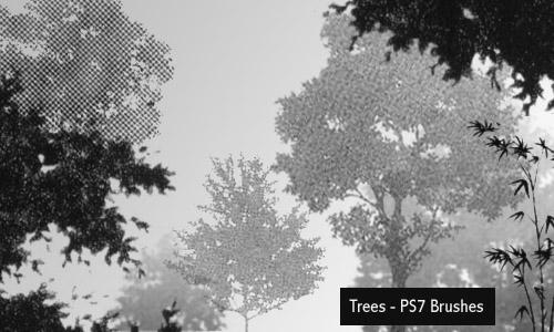 trees by screentones