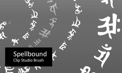 Spellbound - Clip Studio Brush by screentones