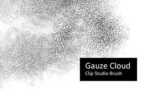 Gauze Cloud - Clip Studio by screentones
