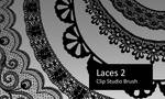 Laces 2 - Clip Studio Brushes by screentones