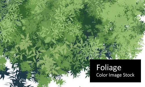 Foliage - Color Stock by screentones