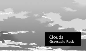 Clouds - Grayscale Image Pack