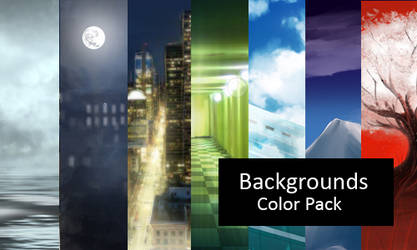 Backgrounds - Color Image Pack
