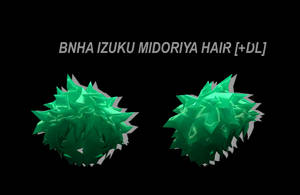 [MMD] BNHA Izuku Midoriya Hair [+DL] by Lemmoni